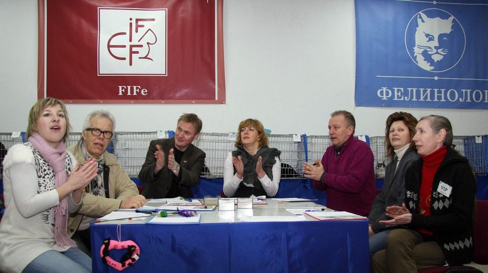 выставка кошек Минск 19-20 февраля 2011 г